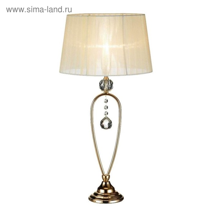 Настольная лампа CHRISTINEHOF 1x40Вт E14 золото