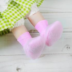 Носки для куклы, длина стопы: 6 см, цвет розовый Ош