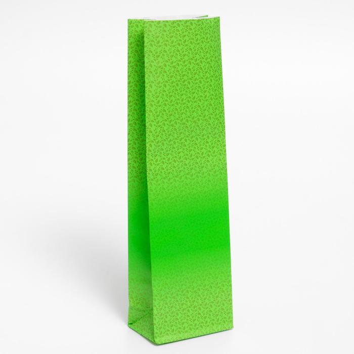 "Пакет бумажный фасовочный ""Tea"", матовый, 7 х 4 х 21 см"