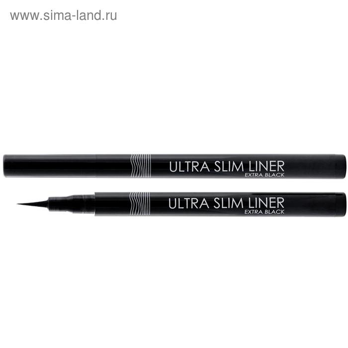 Подводка-фломастер для глаз Lamel professional Ultra Slim Lainer, черный