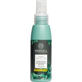 Минеральный БИО-дезодорант для тела Markell Natural Green Collection «Алоэ Вера», 100 мл