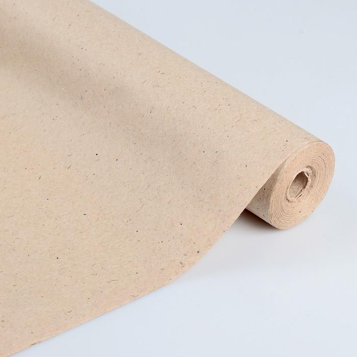 """Бумага обёрточная, марка """"Е"""", 42 см х 10 м"""