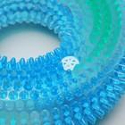 """Игрушка светящаяся для собак """"Жевательное кольцо"""", 12 см, TPR, микс цветов - Фото 3"""