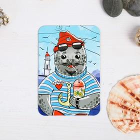 Магнит «Владивосток. Ларга-моряк» Ош