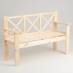 Скамейка, 134×50×90см, из хвои Ош
