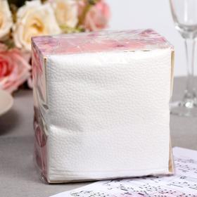 Салфетки бумажные «Лилия», 1 слой, микс, 24*24 см, 100 шт.