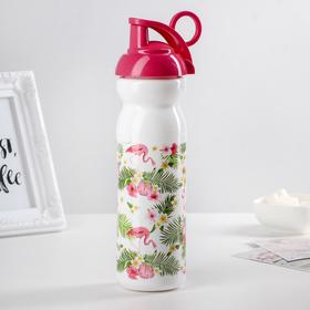 Бутылка «Тропические фламинго», 680 мл