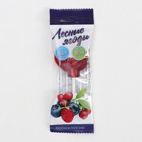 Леденец «Петушок» с витамином С со вкусом лесных ягод, 17 г