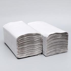 Полотенца V - сложения светло-серые 35 гр.м2, 250 л, 23*20 Ош