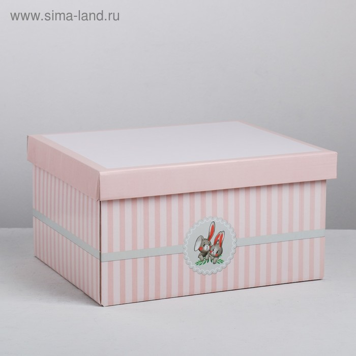 Складная коробка «Малышке», 28 × 23 × 15 см