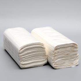 Полотенца V - сложения белые 25 гр.м2, 250 л, 23*20 Ош
