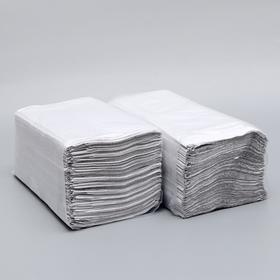 Полотенца V - сложения светло-серые 35 гр.м2, 200 л, 23*20 Ош