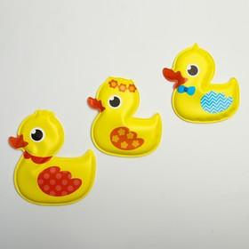 Игрушки для купания «Утиные истории», набор 3 шт.