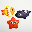 Игрушки для купания «Морские друзья», набор 3 шт.