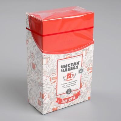 """Фильтр-пакеты для заваривания чая, с завязками, """"Для Чашки"""", 50 шт., 7 х 9 см - Фото 1"""