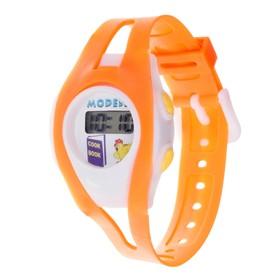 Часы наручные детские 'Забава', электронные, ремешок силикон, микс, l=18.5 см Ош