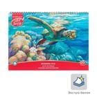 Альбом для рисования А4, 20 листов на гребне ArtBerry «Черепаха», обложка мелованный картон 170 г/м2, блок 120 г/м2