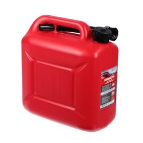 Канистра 3ton PROFI,  КРАСНАЯ для топлива + крышка и лейка, 10 л