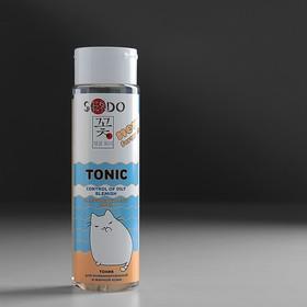 Тоник Sendo контроль жирного блеска для комбинированной и жирной кожи, 250 мл