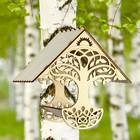 """Кормушка для птиц """"Дерево"""", 23×21×15 см"""