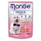 Влажный корм Monge Dog Grill Pouch для собак, свинина, 100 г