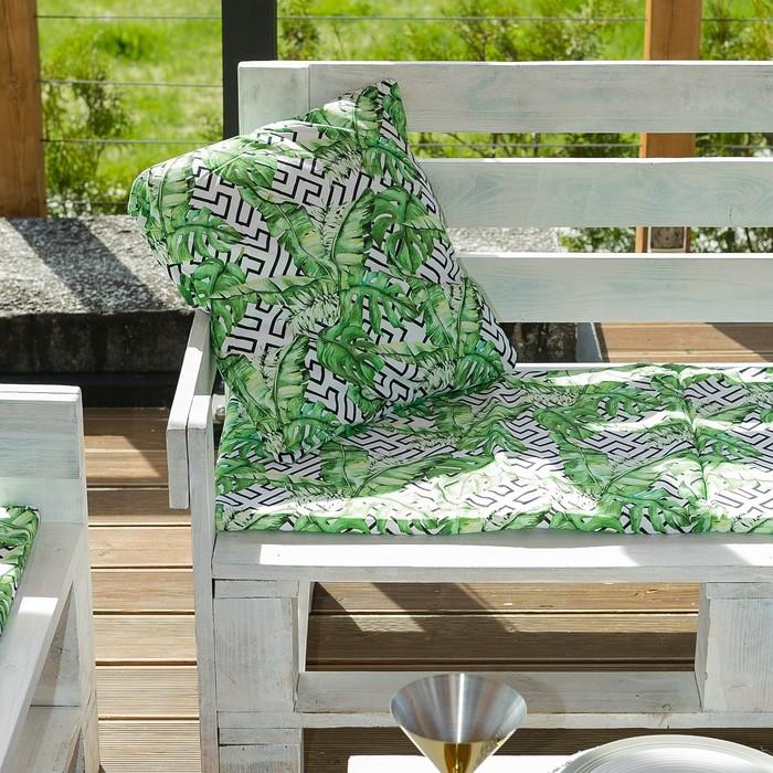 Декоративная подушка уличная «Этель» Геометрия, 45×45 см, репс с пропиткой ВМГО, 100% хлопок