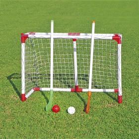 Набор детский для игры в хоккей на траве, цвет красный/белый Ош