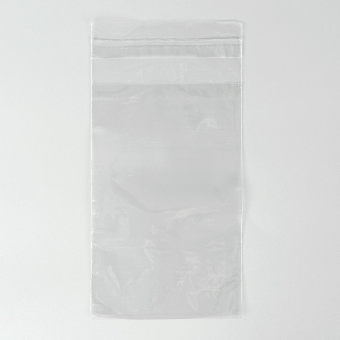 Пакет с липкой лентой 10 х 16/4 см 25 мкм