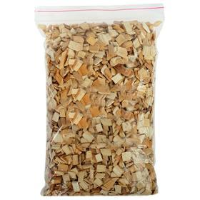 Щепа для копчения, в пакете, ольха, 1 дм3, фаркция 7-10 мм Ош