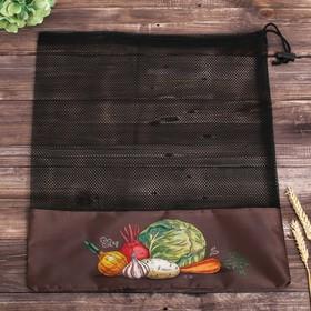 Сетка для хранения овощей «Капуста», 40 × 50 см Ош