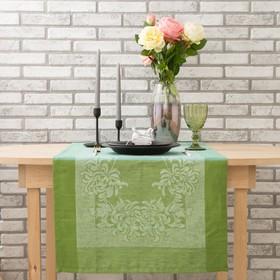 Дорожка на стол Этель Лён «Оливи» 50×155 ± 3 см, 100% лён Ош