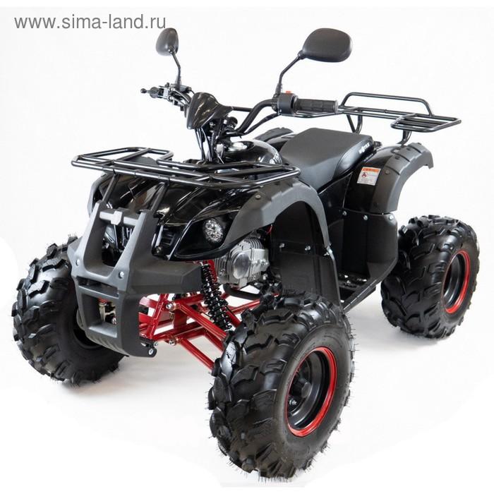 Квадроцикл бензиновый MOTAX ATV Grizlik-7, электростартер, пульт родительского контроля, чёрно-красный