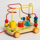 Развивающая игрушка «Лабиринт-сортер» на колесиках - Фото 2