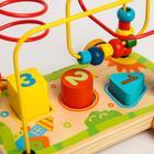 Развивающая игрушка «Лабиринт-сортер» на колесиках - Фото 3