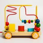 Развивающая игрушка «Лабиринт-сортер» на колесиках - Фото 5
