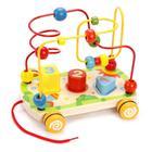 Развивающая игрушка «Лабиринт-сортер» на колесиках - Фото 7