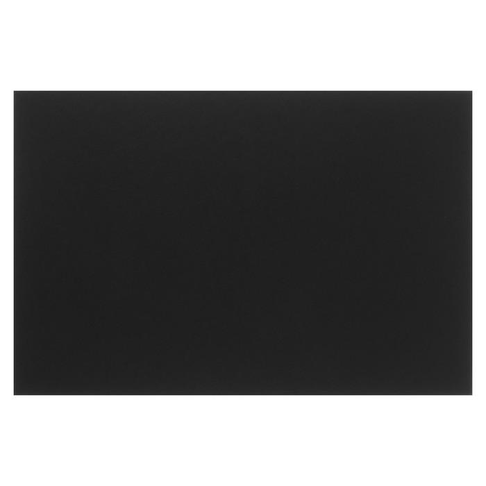 Картон целлюлозный чёрный тонированный, 1.25 мм, 20x30 см, Decoriton, 880 г/м²