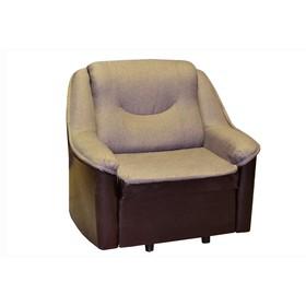 """Кресло-кровать """"Непал"""", ткань Гранд 7 / коричневый"""