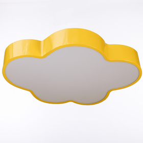 Люстра 'Облачко' LED 3 режима 68Вт желтый 47,5х52х8 см Ош