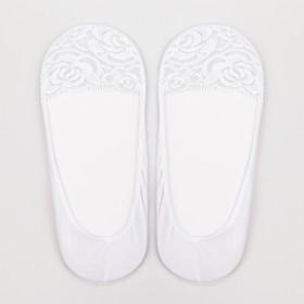Подследники женские ажурные цвет белый, размер 23-25 (36-40)