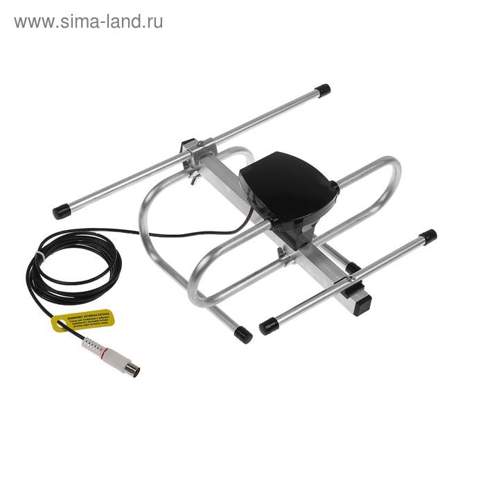 "Антенна ""РЭМО"" BAS-5132-5V Стриж 3.0, комнатная, активная, 23 дБи, 5В, DVB-T2, цифровая"
