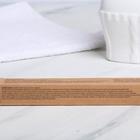 Зубная щетка, бамбук «Улыбайся», 18 х 2 х 2 см - Фото 7