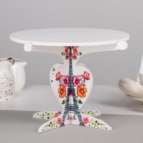 Подставка для кондитерских изделий 23x15,5 см 'Париж' Ош