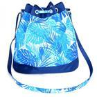 Сумка-торба женская Fiona голубые пальмы