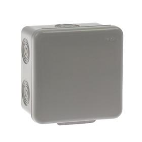 Коробка распределительная TUNDRA, 80х80х50 мм, IP54, для открытой установки Ош
