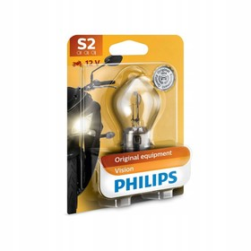 Лампа для мотоциклов PHILIPS, 12 В, S3, 15Вт Ош