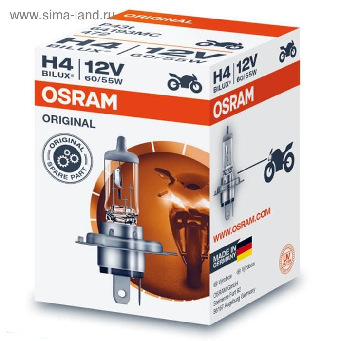 Лампа для мотоциклов OSRAM, 12 В, H4, 60/55 Вт