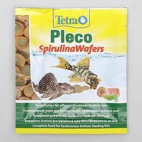 Корм для рыб Tetra Pleco Spirulina Wafers, 15 г