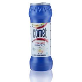 """Порошок чистящий Comet """"Лимон"""" нежность рук, 475 г"""