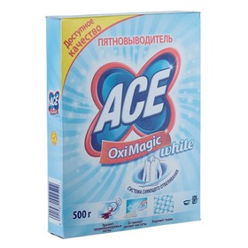 Пятновыводитель Ace Oxi Magic White, 500 г